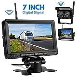 Digitale Übertragung Rückfahrkamera Drahtlos,Directtyteam Funk Rückfahrkamera 28 IRS für Anhänger, RV, Bus, LKW, Pferdeanhänger, Schulbus (Digitale Übertragung) (7)